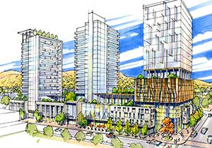 UBCO Downtown Campus Rendering